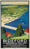 'Bideford', SR poster, 1923-1947.