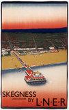 'Skegnes, Lincolnshire', LNER poster, c 1930.