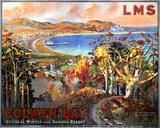 'Colwyn Bay', LMS poster, 1923-1947.