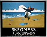 'Skegness is So Bracing', LNER poster, 1923-1947.