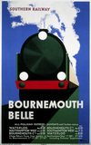 'Bournemouth Belle', SR poster, 1933.