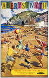 'Aberystwyth', BR (WR) poster, 1960.