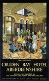'Cruden Bay Hotel, LNER poster, 1923-1947.