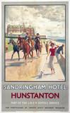 'Sandringham Hotel, Hunstanton', LNER poster, 1923-1947.