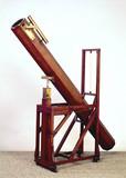 Newtonian reflecting telescope, 1783-85.
