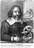 Elias Allen, mathematician and instrument maker,  c 1630.