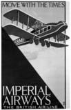 Imperial Airways poster, c 1924.