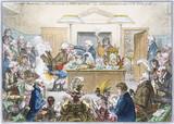 A scientific lecture, 1802.