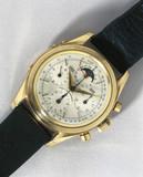 'Tri-Compax' calendar chronograph wristwatch, c 1955-1960.
