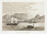 'Cape Town and Table Mountain', 1853.