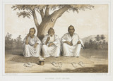 'Afternoon Gosip, Lew Chew', c 1853-1854.