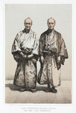 Yenoski and Takojuro, interpreters, c 1853-1854.