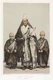 'Priest in Full Dres, Simoda', c 1853-1854.