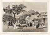 'Chief Temple, Hakodadi', c 1853-1854.