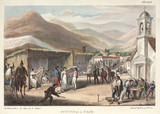 'Scenes at a Fair', Chile, 1820-1821.
