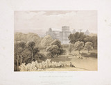 The Crystal Palace and grounds from the North, c 1855.