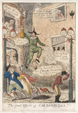 'The Good Effects of Carbonic Gas !!!', 1807.