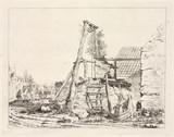 A well, 1747-1748.