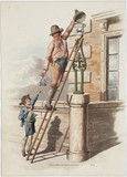 'Lamp lighter', 1808.