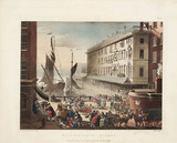 'Billingsgate Market', Billingsgate Wharf, London, 1 March 1808.