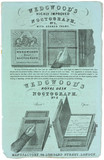 'Wedgwood's highly improved noctograph', c 1842.