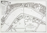 'Plan of the River Thames from Westminster Bridge...', London, 1825.