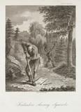 'Finlanders shooting Squirrels', c 1798-1799.
