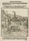 The harbour and mausoleum at Halicarnassus, 1548.