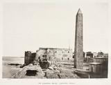 Cleopatra's Needle, Alexandria, Egypt, c 1870s.
