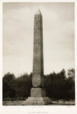 'The New York Obelisk', USA, c 1880s.