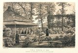 'Public Gardens at Odji', Japan, 1858.