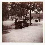 London street scene, c 1900.