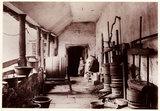 A cider pres, c 1890.