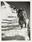 Mountain climbers, c 1925.