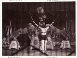 Circus lion tamer, c 1936.