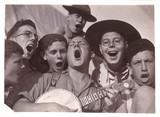 Singing scouts, c 1930.