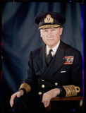 'Sir Admiral Bertram Ramsay', c 1943.