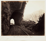 'View On The Railway Incline - ', c 1865.