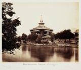 'Shah Hamadan Masjid, Srinagar', c 1865.