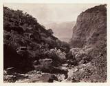 'Dhobie's Glen, Mahabaleshwar, Bombay', c 1865.