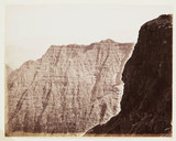 'Cliffs At Elphinstone Point', c 1865.