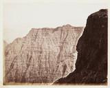 'Cliffs At Elphinstone Point', c 1865.