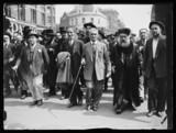 Jewish protest march, 1933.