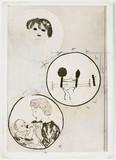 Bacteria paintings, 1959.