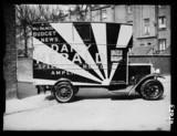 Daily Herald radio van, 1935.