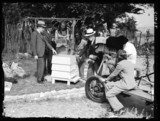 Television broadcast on beekeeping, 9 June 1938.