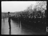 Sea cadets cheering, 1942.