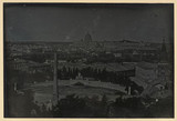 'Rome. View from the Pincio...', 1841.