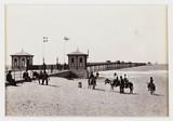 'Rhyl, The New Pier', c 1880.