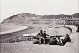 'Aberystwyth, The Parade and Beach', c 1880.